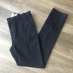 Burberry navy blue pants
